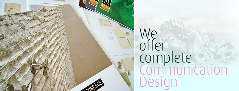 We offer complete communication design