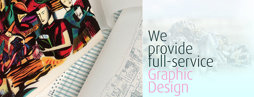 We provide full-service graphic design