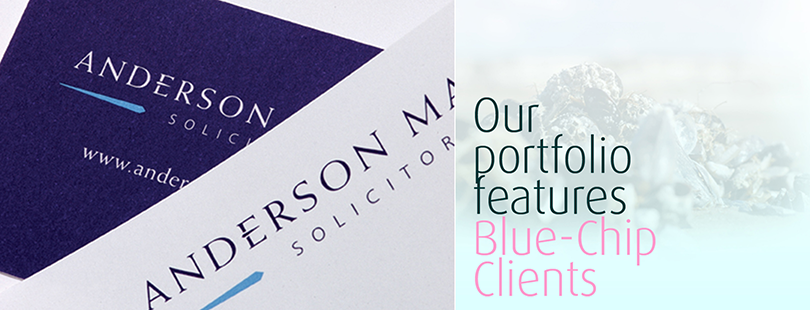 Our portfolio features blue chip clients